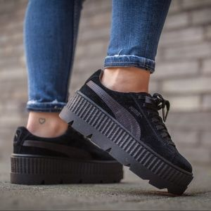 Puma Fenty Suede Cleated Creeper Sneakers